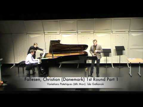 Fallesen, Christian (Danemark) 1st Round Part 1