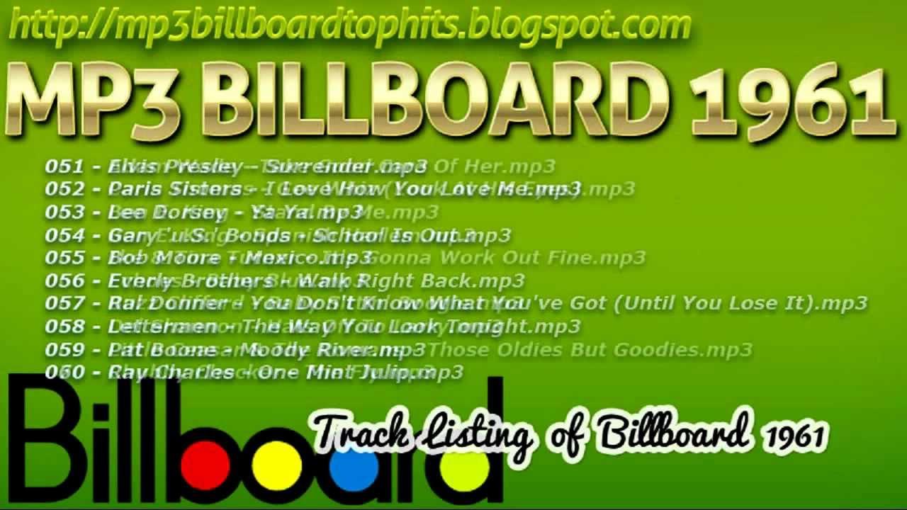 Top 100 1961 - UK Music Charts