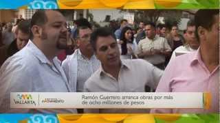 Ramón Guerrero arranca obras por más de ocho millones de pesos