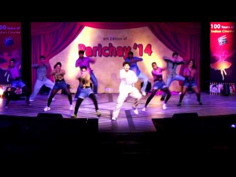 Infosys Parichay 2014 - Tribute to Prabhudeva