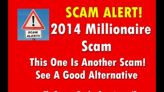 2014 Millionaire Scam Review Of Stan Lutz 2014
