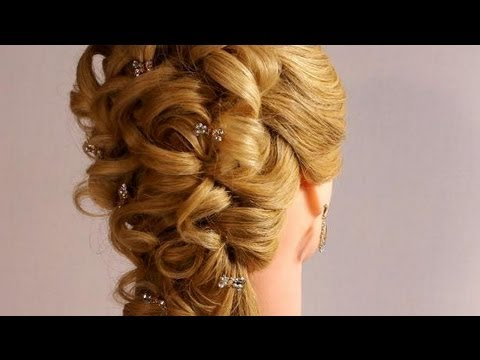 Wedding Prom Hairstyles For Long Hair Romantic Bridal Hairstyles