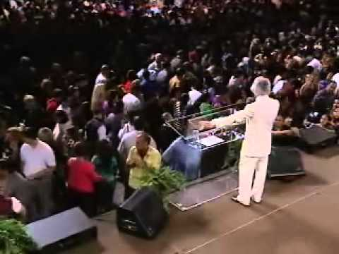 "Micah Stampley ""It is Well"" ""The Blood"" Medley, Benny Hinn Crusade Part 1"
