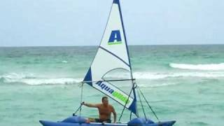 Experimental Inflatable Sail Catamaran By Saturn