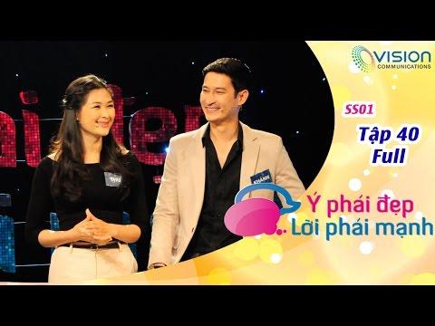 Ý Phái Đẹp Lời Phái Mạnh | HTV | Tập 40 | Huy Khánh - Anh Thư | Thanh Ngọc - Đức Thiệp | S1