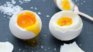 Perfect Hard Boiled Egg Recipe. How To Cook Hard Boiled