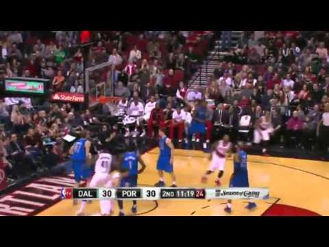 Dallas Mavericks vs Portland Trail Blazers   1st HALF HIGHLIGHTS   December 7  2013   NBA 2013 14