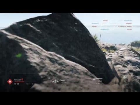 Battlefield V funny flying man