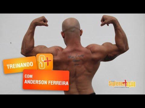 Anderson Ferreira - Treino de Costas