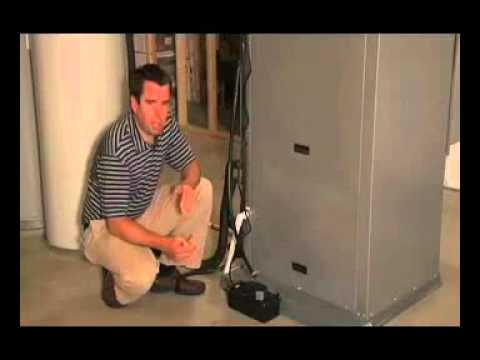 Install A Condensate Pump Wcp85 Hvac Unit Wmv Youtube