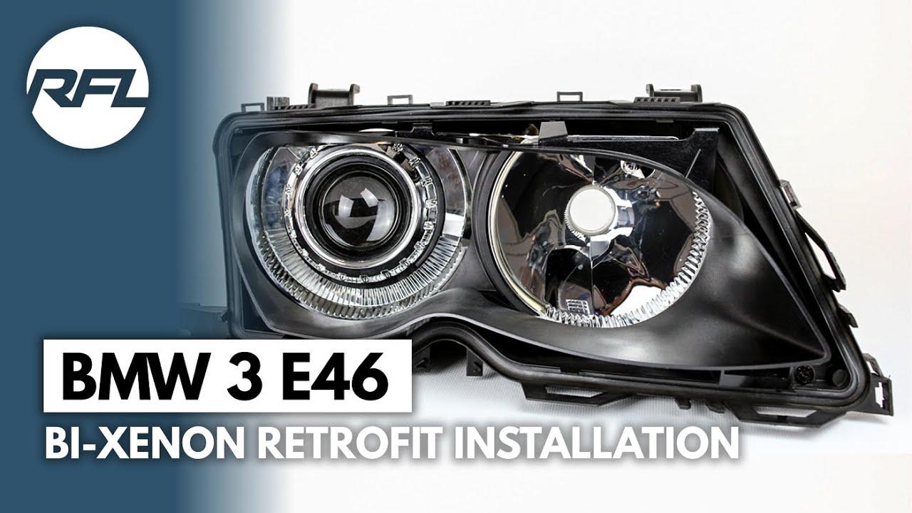 bmw 3 e46 bi xenon projector headlight retrofit kit. Black Bedroom Furniture Sets. Home Design Ideas