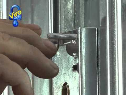 Serratura corazzata per porte basculanti ns youtube - Kit isolation porte garage basculante ...
