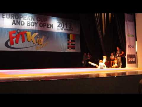 Ilic Tijana European cup 2013, Belgrade, 2. category, 5. place