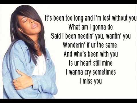 Aliyah miss you lyrics