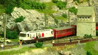 Die wunderbare Miniaturwelt der BEMO Modelleisenbahn - Vier faszinierende Schauanlagen der schweizerischen Eisenbahnen