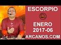 Video Horóscopo Semanal ESCORPIO  del 5 al 11 Febrero 2017 (Semana 2017-06) (Lectura del Tarot)