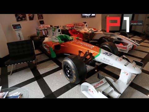 Sahara Force India Factory Tour