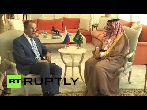 Saudi Arabia: Lavrov meets with Saud al-Faisal in Jeddah
