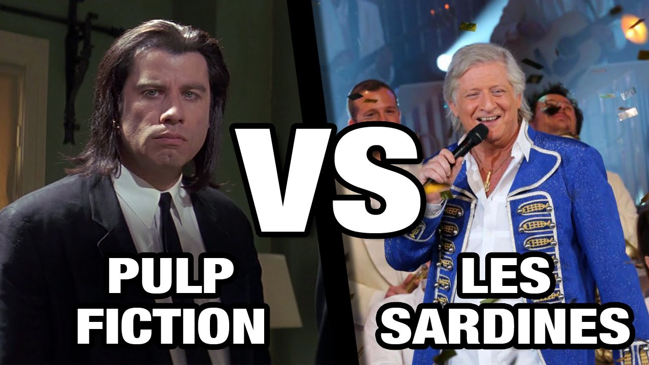 Pulp Fiction VS Les Sardines (Patrick Sébastien)