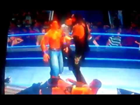 WWE svr 2010 triple threat ladder match part 3