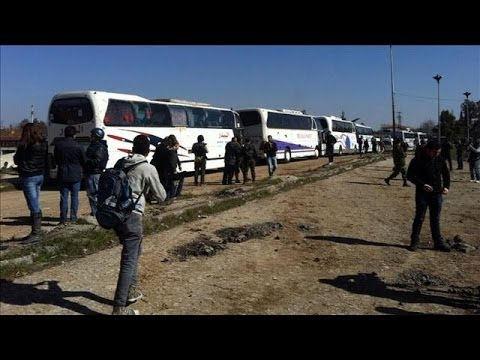 First Batch of Civilians Evacuated From Homs