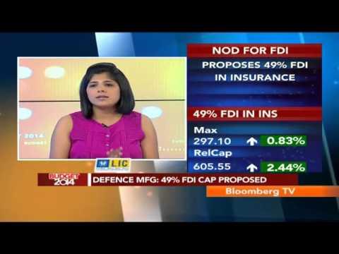 Budget 2014: Defence Mfg: 49% FDI Cap Proposed