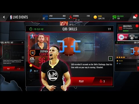 Stephen Curry 96 (QJB: Skills) NBA Live Mobile