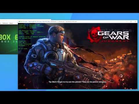 Gears of War - Judgement PC gameplay and setup on BoxEmulator (Xbox 360 Emulator) 1.04
