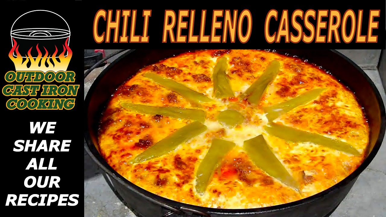 Chili Relleno Casserole - YouTube