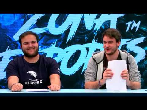ZONA ESPORTS #81 LOL: THE CLOUD LEAGUE, FINAL LCS EU, PARCHE 8.8 y COMENTARIOS DE CABRAMARAVILLA
