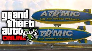 GTA 5 Online: How To Get The Atomic Blimp (GTA V)