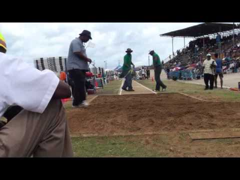 Barbados Today BSSAC Exclusive: Long jump boys