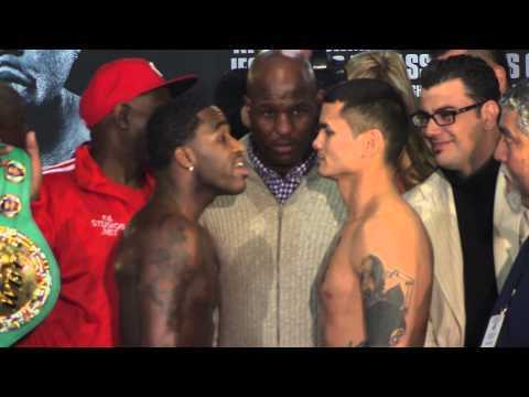Adrien Broner and Marcos Maidana - Heated Face-Off in San Antonio - SHOWTIME Boxing