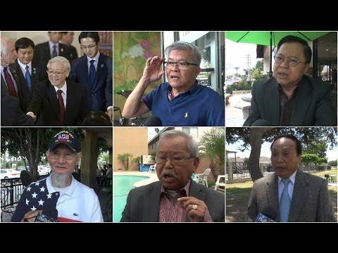TBT Đảng CSVN Nguyễn Phú Trọng thăm Mỹ, người Việt ở Bolsa nói gì?