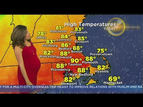 WBZ Morning Forecast For May 19