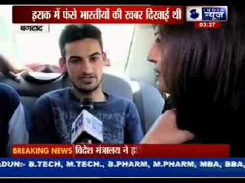 India News gives information about Indians in Iraq