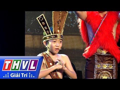 THVL | Siêu nhí tranh tài - Tập 3: Bé Gia Bảo | Hài kịch: Sơn Tinh Thủy Tinh