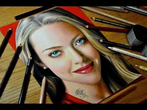 Drawing Amanda Seyfried