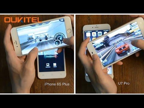 Apple of China OUKITEL U7 Pro Vs. iPhone 6S Plus