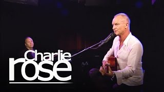 """Sting Performing """"The Last Ship"""" Charlie Rose"""