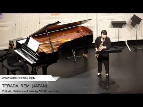 Dinant 2014 – TERADA, REMI (Prélude, Cadence et Finale Alfred Desenclos)