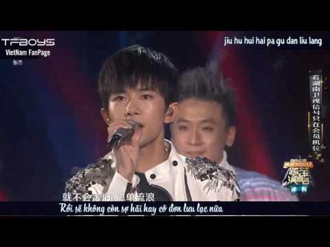 [Vietsub Live] 010117 Đom Đóm - TFBOYS @Hunan TV 2017 New Year Concert