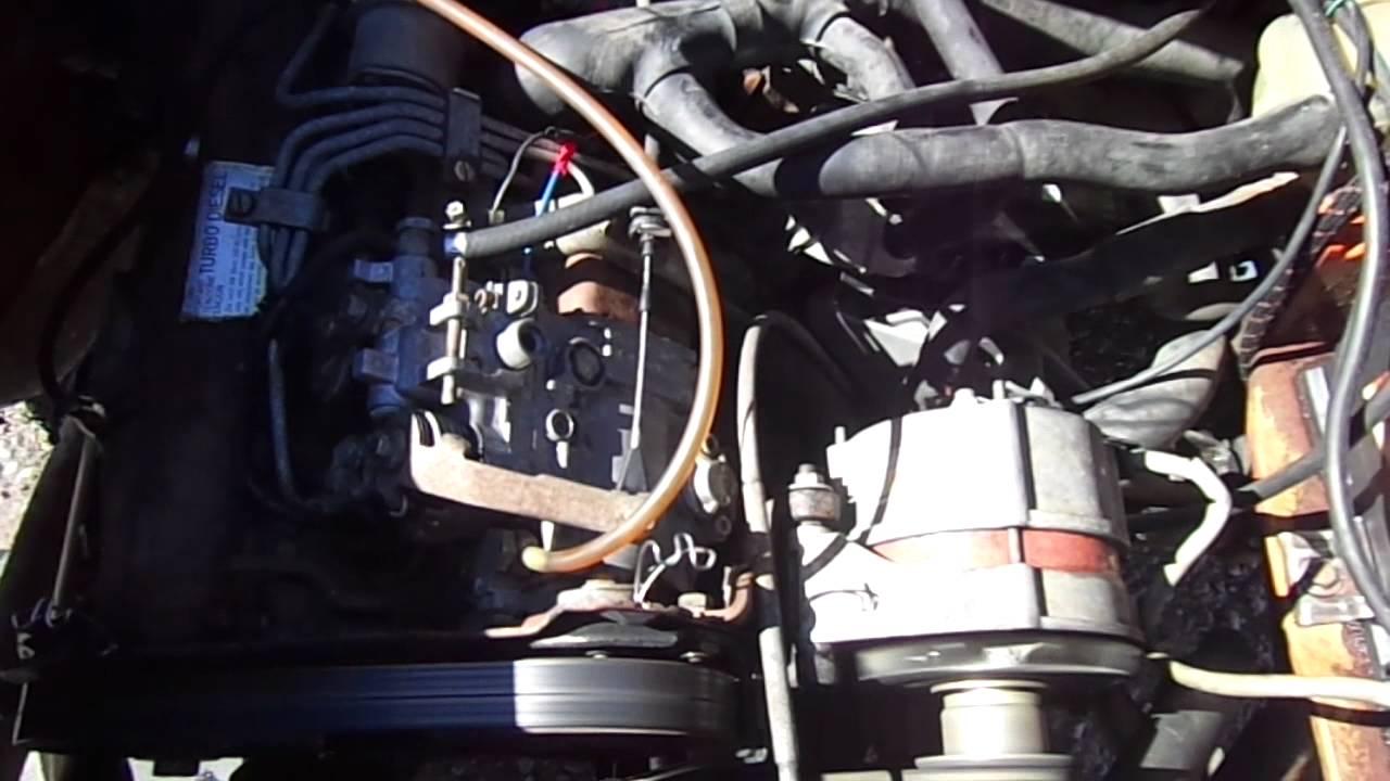 vw 1 6 turbo diesel engine for sale runs good youtube. Black Bedroom Furniture Sets. Home Design Ideas