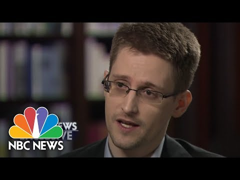 Snowden Discusses Surveillance Reform | NBC News