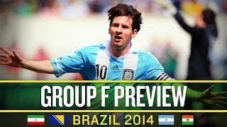 World Cup 2014: Group F Preview And Predictions