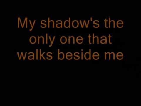 Boulevard of broken dreams lyrics