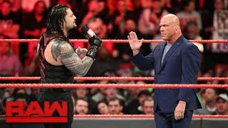 Roman Reigns sounds off on Mr. McMahon: Raw, March 12, 2018