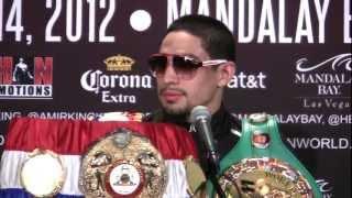 Amir Khan Vs Danny Garcia (Full Length Post Fight Press