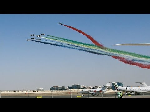 Abu Dhabi Air Expo 2014 - Highlights