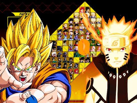 Dragon Ball vs Naruto M.U.G.E.N (Hi-Res) DOWNLOAD by Ristar87